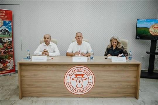 Вурнарский район с рабочим визитом посетили министры Алла Салаева и Сергей Артамонов