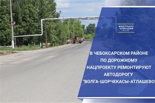 Ремонт автодороги «Волга-Вурмой»