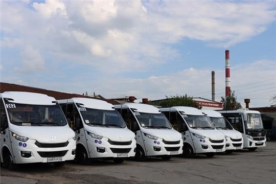 На межмуниципальном маршруте №262 «Чебоксары-Новочебоксарск» запустили  новые автобусы среднего класса