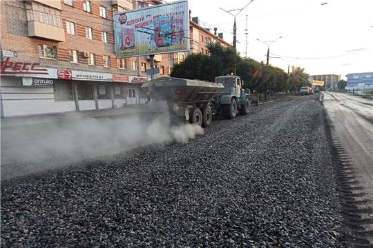 Ремонт чебоксарских дорог по нацпроекту «Безопасные качественные дороги» вступил в активную фазу