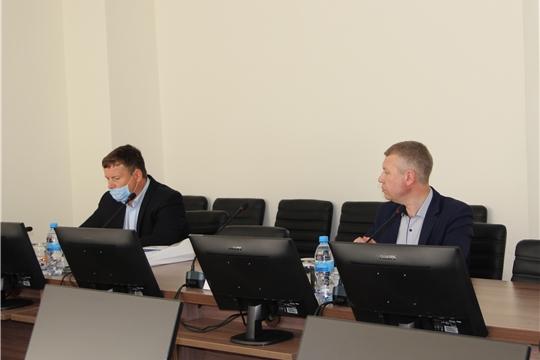 17 июня Александр Колесников принял участие в рабочей встрече по вопросу трудоустройства граждан Чувашской Республики на свободные вакантные места, задействованные на строительства объектов АЭС.