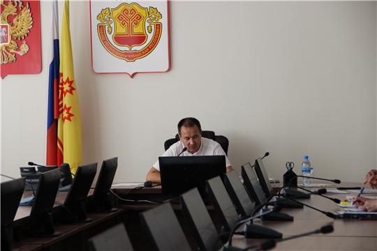 Алексей Григорьев провел рабочее совещание по вопросу заключения социальных контрактов в режиме ВКС
