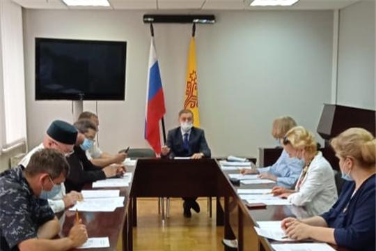 Рассмотрены ходатайства о помиловании  9 осужденных, отбывающих наказание в исправительных учреждениях Чувашской Республики