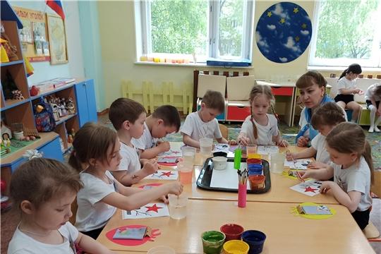 В формате познавательных квестов прошел «Клубный час» в детском саду № 22 г. Чебоксары