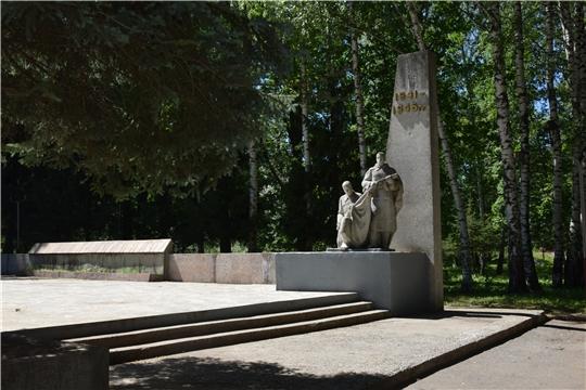 В Чебоксарах проходят субботники по благоустройству памятных мест и воинских захоронений