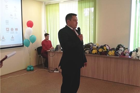 Алексей Ермолаев и Павел Семенов поздравили медиков Новочебоксарска