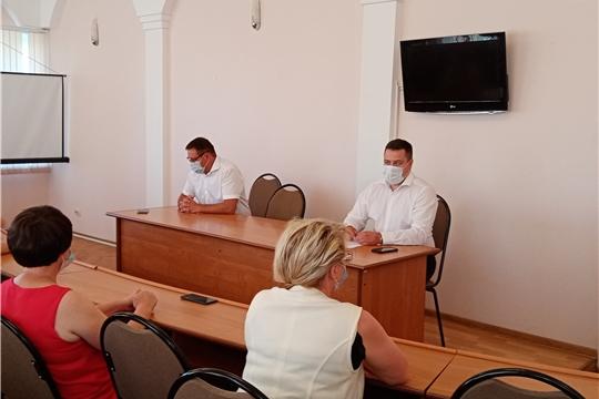 Алексей Ермолаев и Дмитрий Пулатов провели встречу-совещание