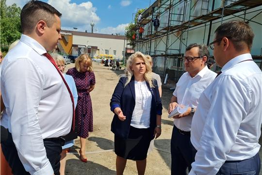 Капитальный ремонт школ на контроле руководства Республики и Новочебоксарска