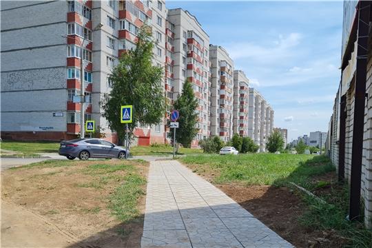 В Новочебоксарске появились новые пешеходные переходы