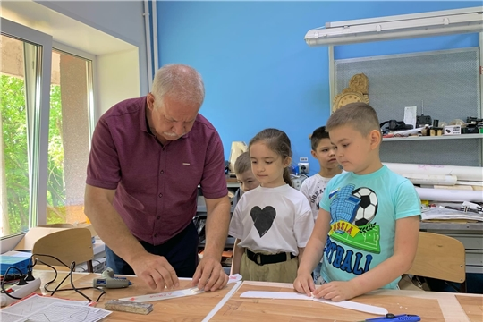 """В «Детском технопарке «Кванториум» г.Чебоксары стартовала вторая смена летнего образовательного интенсива """"КвантоPRO""""!"""