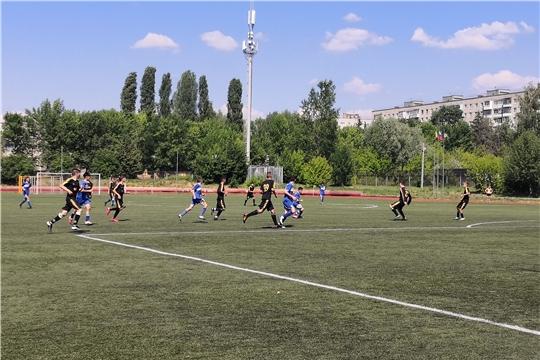 Состоялся финал старшей группы республиканских соревнований юных футболистов «Кожаный мяч»