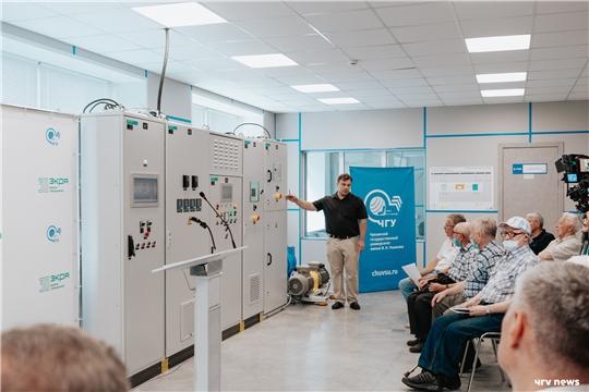 В ЧувГУ открыли первую в Поволжье учебную «Лабораторию цифрового электропривода»