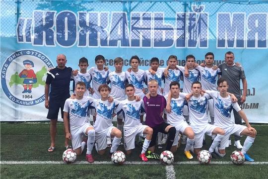 Футбольная команда Чувашии — серебряный призер Всероссийских соревнований юных футболистов «Кожаный мяч»