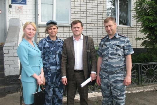 Сергей Романов в рамках мероприятий по ресоциализации осужденных посетил уголовно-исполнительные учреждения Алатырского района