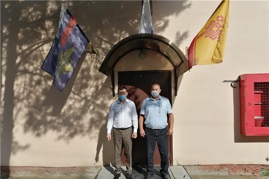 Сергей Романов посетил ЦВСИГ МВД по Чувашии