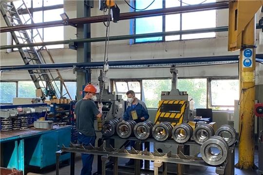 В Чувашии запустили новое производство «Волжского погрузчика»