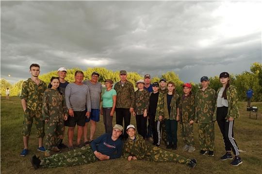 Члены поискового отряда «Надежда» приняли участие  на раскопках в Яльчикском районе