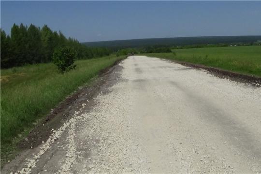 В сельских поселениях Шемуршинского района  продолжается ремонт дорог