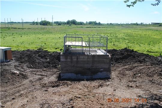 На территории Шемуршинского сельского поселения продолжаются работы второго этапа капитального ремонта плотины