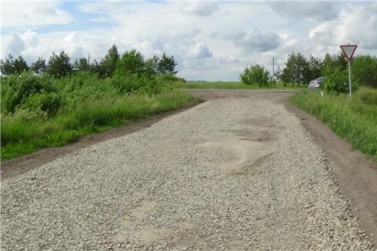 На территориях сельских поселений Шемуршинского района в рамках реализации программы инициативного бюджетирования продолжаются работы по ремонту дорог