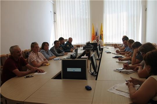 Состоялось внеочередное заседание комиссии по предупреждению и ликвидации чрезвычайных ситуаций и обеспечению пожарной безопасности Шумерлинского района