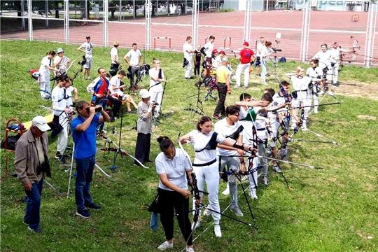 Лучники Чувашии разыграли награды чемпионата и первенства республики