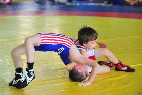 Новые борцовские ковры поступили для юных спортсменов Чувашии