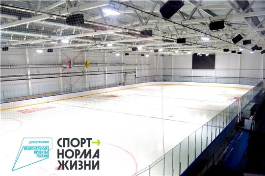 На льду Регионального центра по хоккею пройдут  первые сборы для юных хоккеистов со всей республики