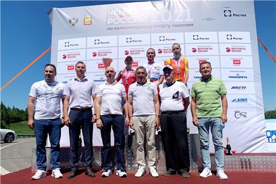 Велогонщица из Чувашии Татьяна Антошина  завоевала «бронзу» в индивидуальной гонке на чемпионате России