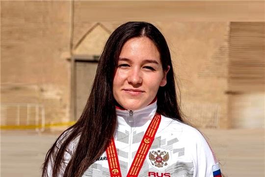 Алина Алексеева - победительница 1-го этапа Кубка мира по мас-рестлингу