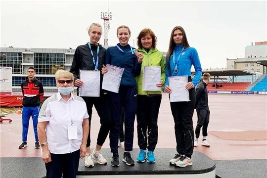 Легкоатлеты Чувашии выиграли четыре медали юниорского первенства России