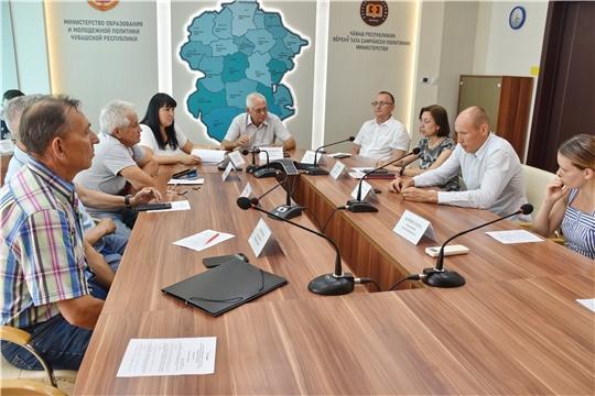 Состоялось очередное заседание Общественного совета при Минспорте Чувашии