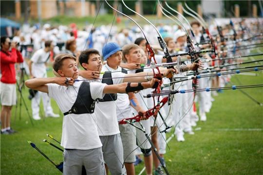Лучники Чувашии вступили в борьбу за медали на первенстве России в Орле