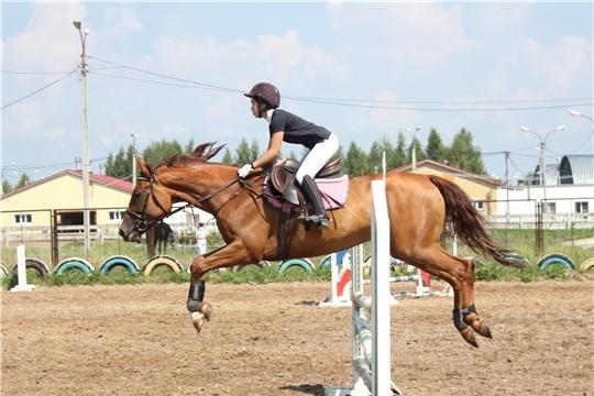 Открытый чемпионат Чувашии по конкуру прошёл в Новочебоксарске