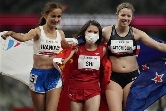 Спортсменка из Чувашии Елена Иванова завоевала серебряную медаль в беге на 100 метров на Паралимпиаде в Токио