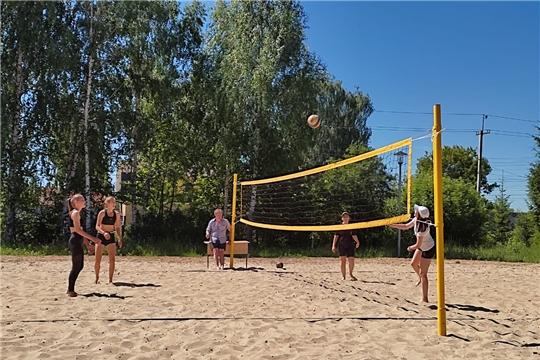 Состоялся чемпионат района по пляжному волейболу
