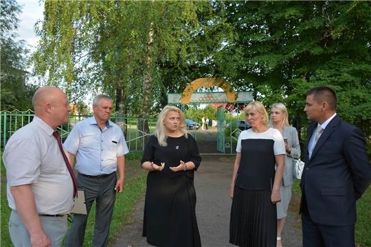 Рабочий визит вице-премьера Аллы Салаевой и министра культуры Светланы Каликовой