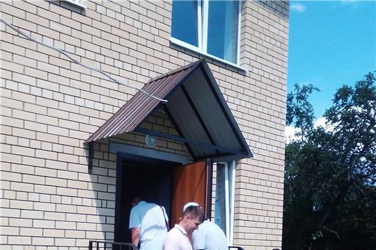 Многодетная семья Гришиных получила ключи от нового дома