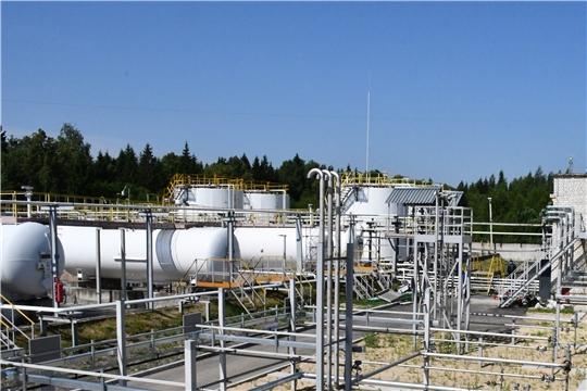 Повышение промышленной безопасности: на Вурнарском заводе смесевых препаратов идет техническое перевооружение участка ЛВЖ