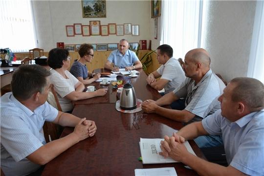В администрации района состоялось рабочее совещание