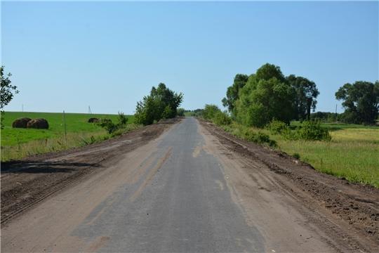 Проведен осмотр проведенного ремонта на участках районных дорог