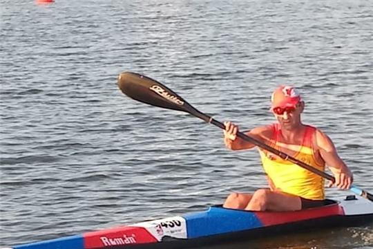 Александр Кочкин завоевал две медали на Кубке Европы по каноэ-марафону среди ветеранов