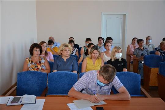 Состоялось заседание районного оперативного штаба по коронавирусу