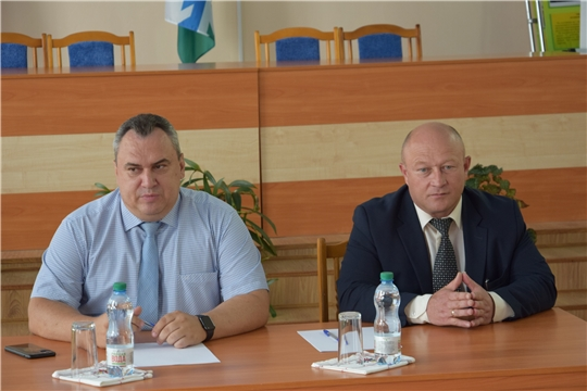 Вурнарский район с рабочим визитом посетил руководитель Государственной службы