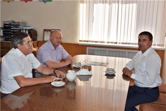 Вурнарский район с рабочим визитом посетил председатель Чувашской национально-культурной автономии Санкт-Петербурга