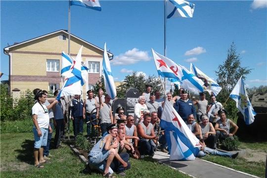 В Ядринском районе почтили память военных моряков