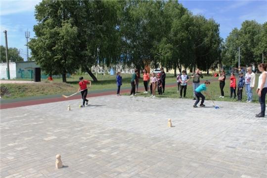Спортивно-развлекательная программа «Мы – россияне», посвященная Дню России