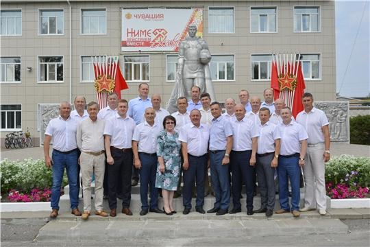 Семинар-совещание с главами администраций муниципальных районов и городских округов Чувашской Республики