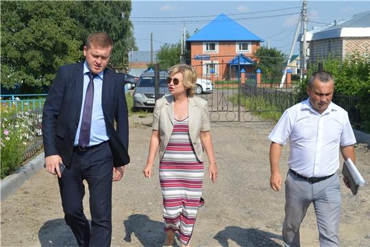 Визит замминистра образования и молодежной политики Чувашии Наталии Скворцовой в Янтиковский район