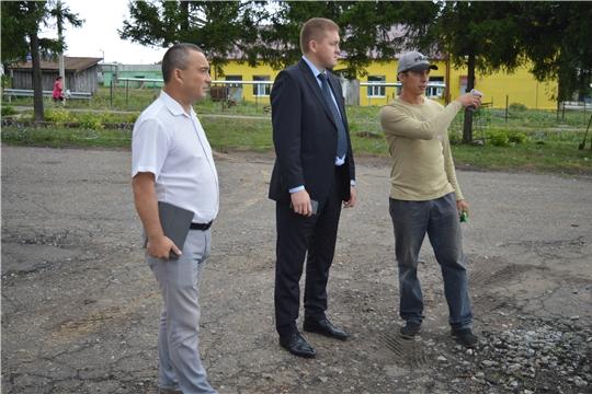 Владимир Михайлов ознакомился с ходом работ по благоустройству проекта «Формирование комфортной городской среды»